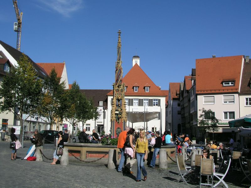 Rathausplatz in Ulm