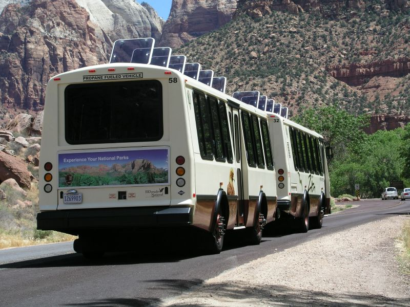 Zion Shuttle Bus