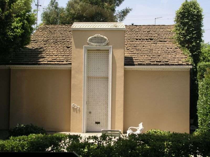 Beverly Hills, Marilyn Monroes erstes Haus