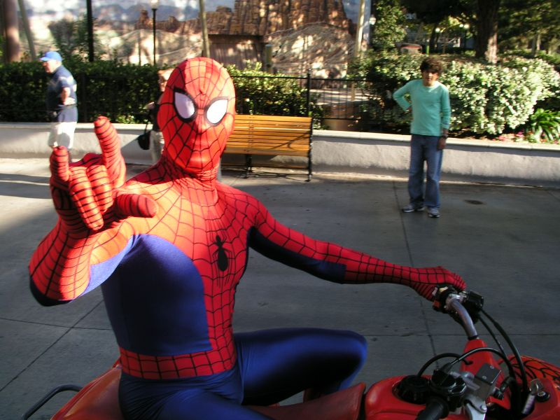 Universal Studios Spiderman