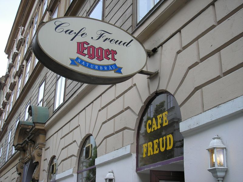 Cafe Freud in der Berggasse